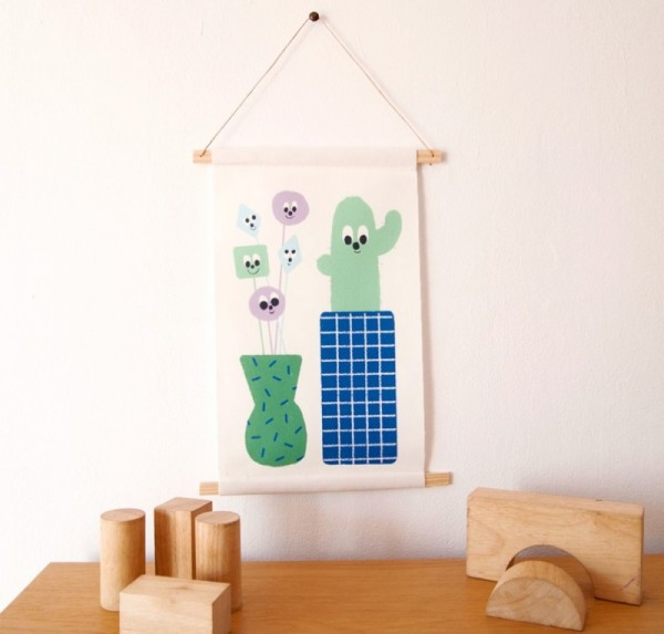 Guimo wall pennant