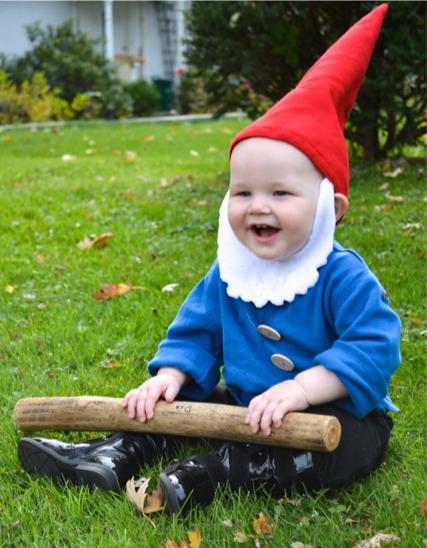 Garden nome DIY halloween costume