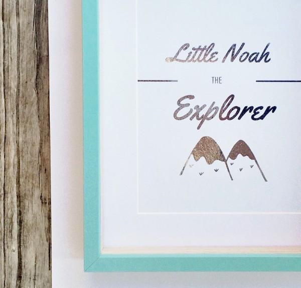 Lulluby explorer print