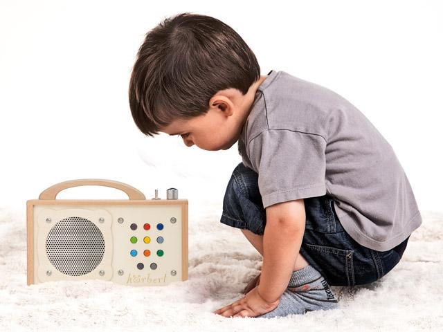 Hoerbert protable music player