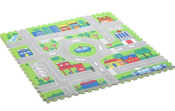 kmart floor mat  sc 1 st  Babyology & 20 amazing nursery and kidsu0027 room decorating ideas for $30 or less