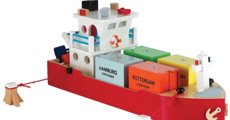 new classic container ship