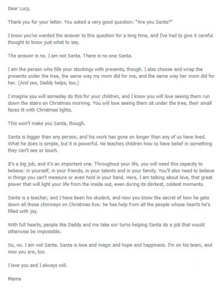 What to say if your child asks if Santa is real
