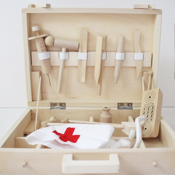 Little Goldie Wooden Doctor Kit
