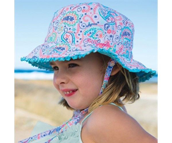 Girls Bucket Hat Paisley