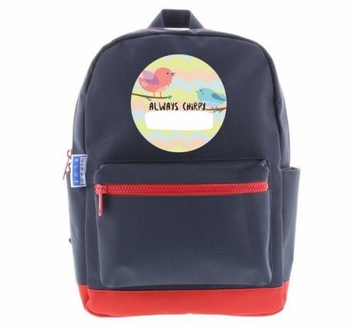 Hippo Blue backpack