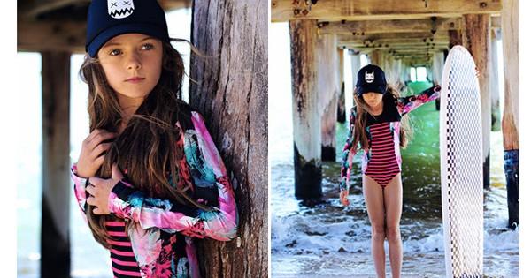 Missie swimwear surfer girl