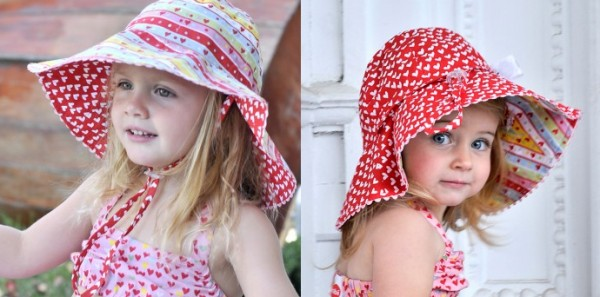 Oobi Sophie Candy Heart Bucket Hat