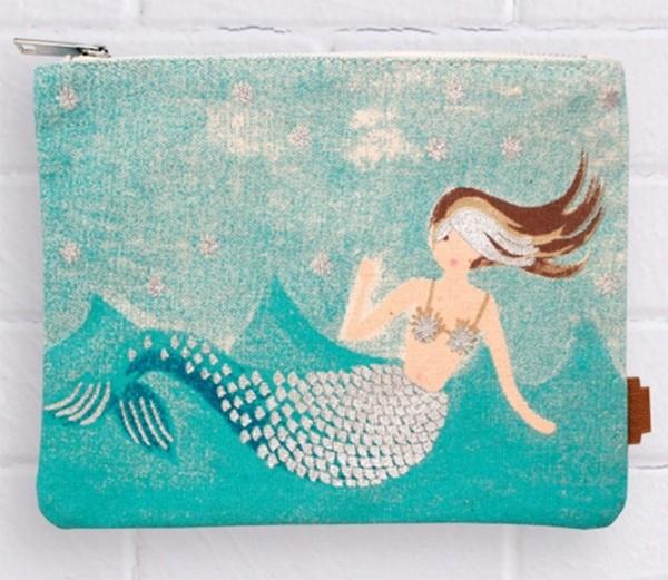 Pavement mermaid pencil case