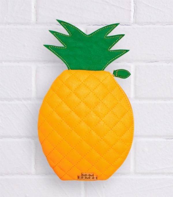 Pavement pineapple pencil case