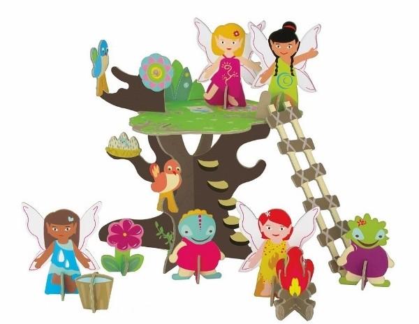 krooom fairies tree playset