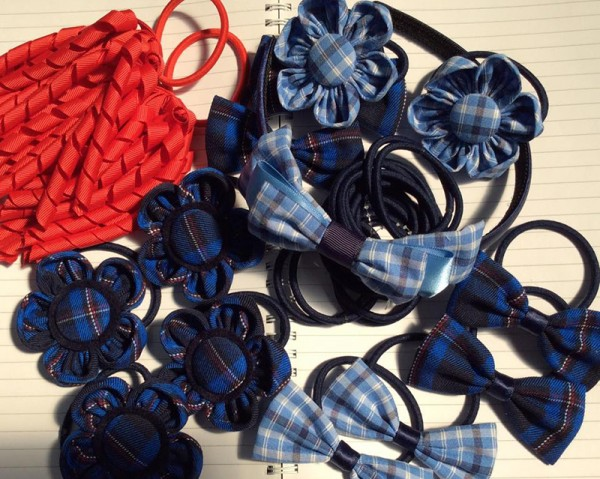 school pride hair accessories
