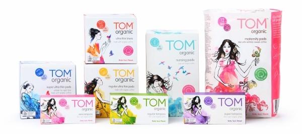 Tom Organic nursing pads