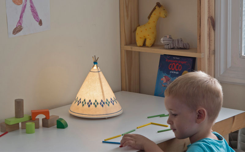 Buokids_2, Tipi teepee lamp