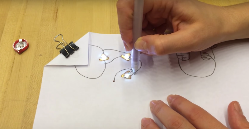 Circuit Scribe lets kids draw their own electronic circuits in ...