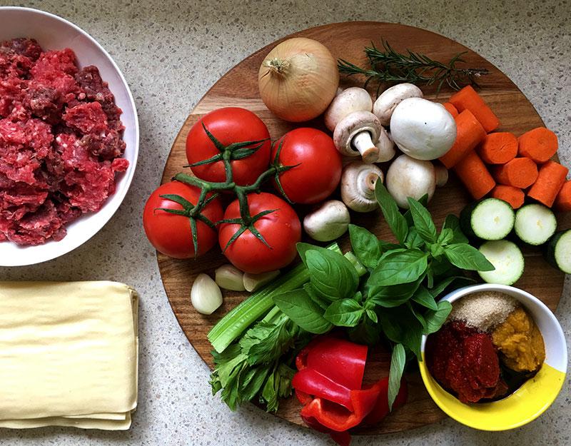 Lets-Cook-Lasagne-ingredients
