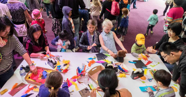 NGV Kids Summer Festival 2016