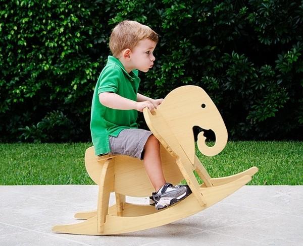 Wee Rock Toy Co. rocking elephant