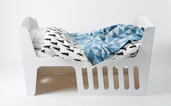 jall and tofta rocky toddler bed white