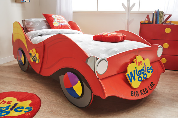Wiggles Big Red Car Toddler Bed