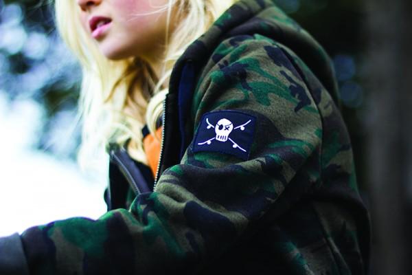 Alphabet Soup Winter 2016 camo hoodie