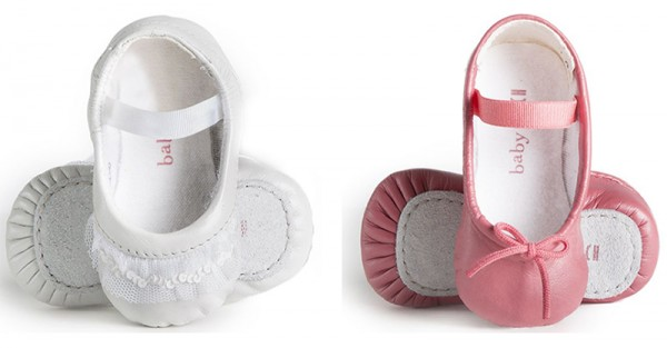 Baby Bloch ballet shoes for tiny dancers