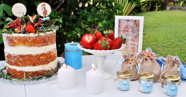 Rustic Baby shower 4