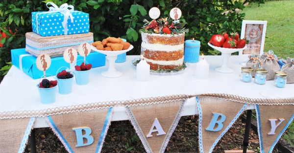 Rustic Baby shower 5