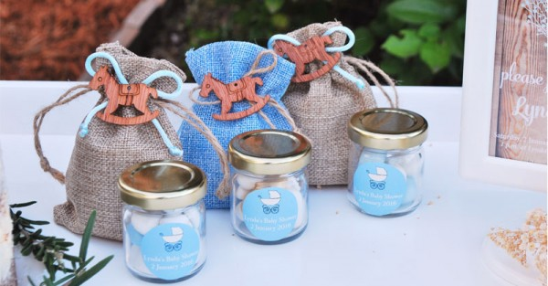 Rustic Baby shower 6