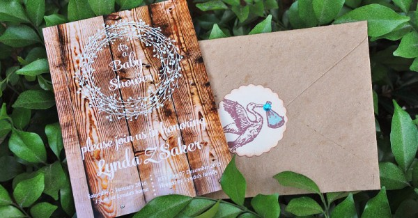 Rustic Baby shower 7