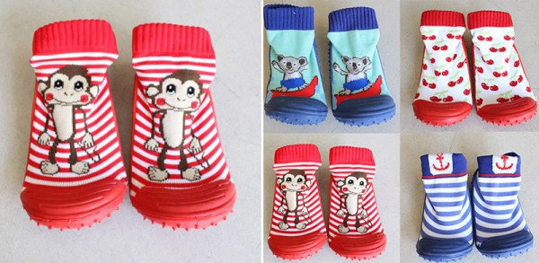 Sock Shoes Monkey