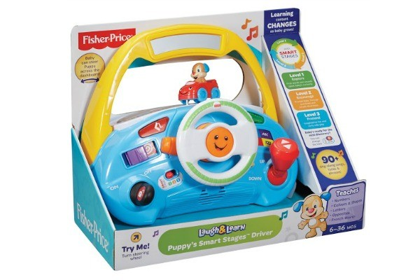 fisher price driving puppy 2