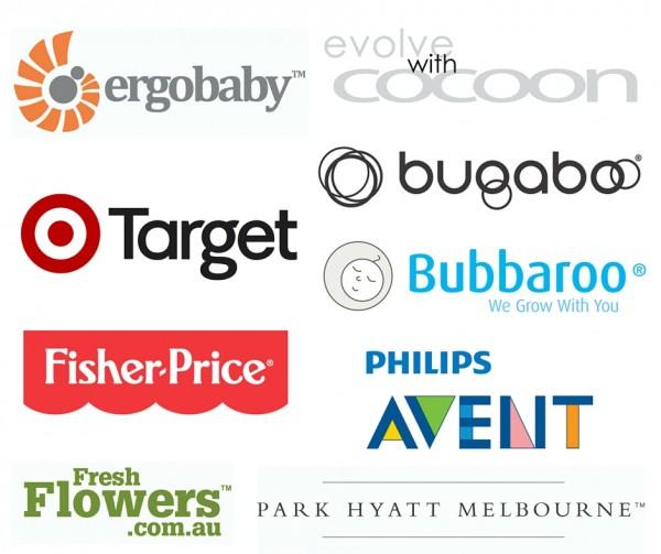 Baby Shower Sponsor Logos Melbourne April 2016 (1)