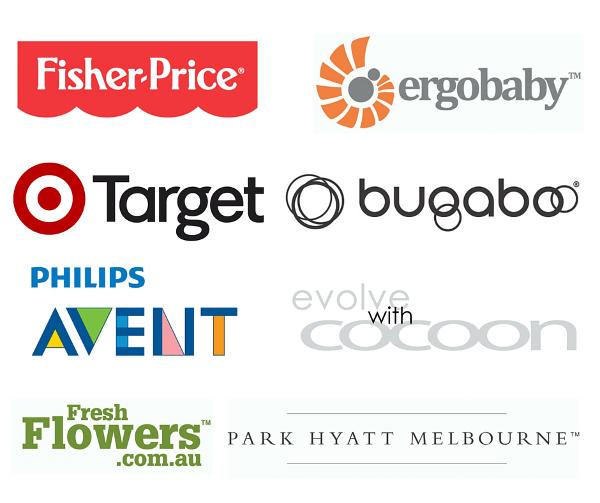 Baby Shower Sponsor Logos Melbourne April 2016