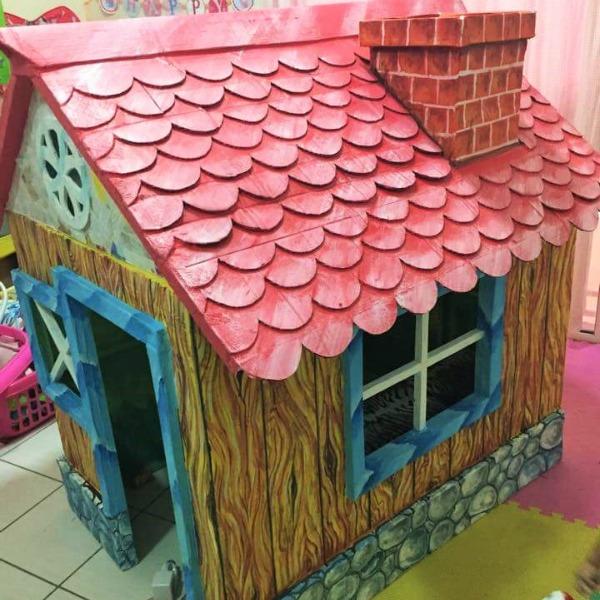 cardboard box house 1