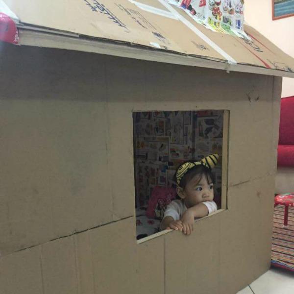 cardboard box house 2