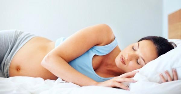 crampeze pregnant sleeping woman sl