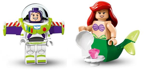 lego minifigs disney 3