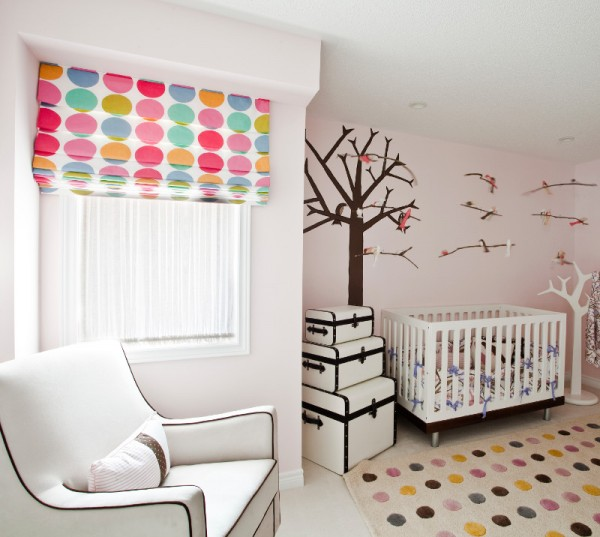Baby's room of a showcase home interior