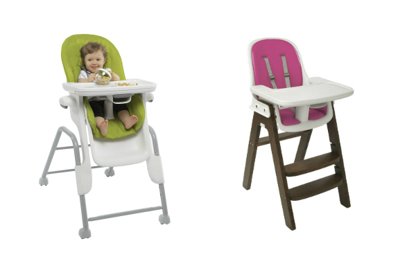 The Two High Chair Offerings From Oxo Tot, The Seedling (left) And The  Sprout (right) Cover All The Bases. The Seedling Is Suitable From Infancy,  ...
