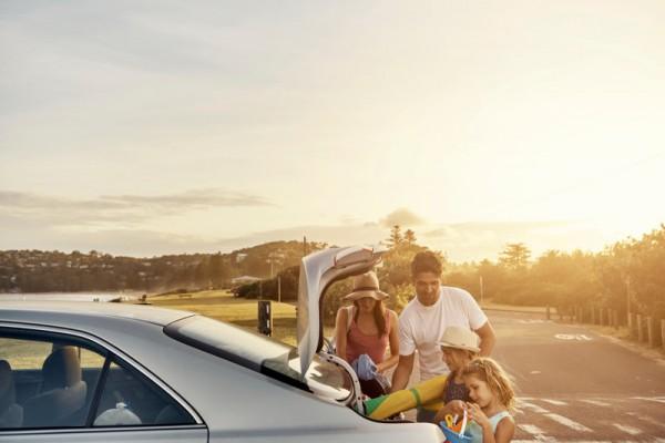 road trip family car sl