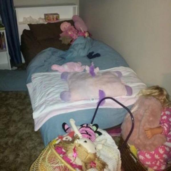 toy basket bedtime