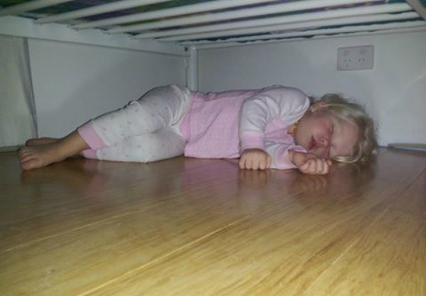 under the bed bedtime
