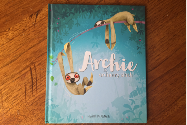 Archie - no Ordinary Sloth by Heath McKenzie