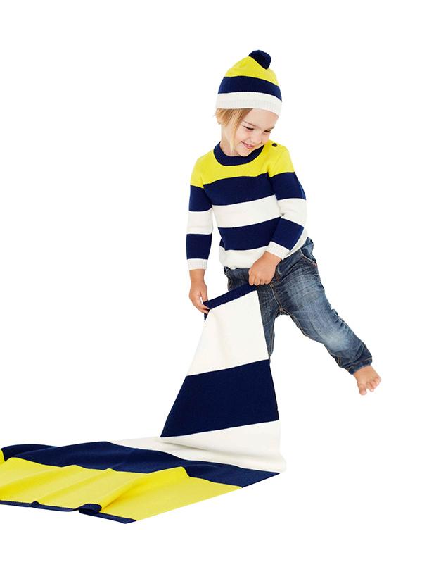 Atelier Child The Stripe jumper scarf