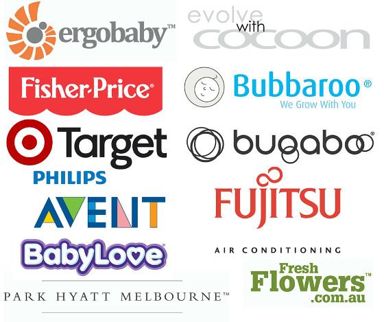 Baby Shower Sponsor Logos Melbourne April 2016 FINAL