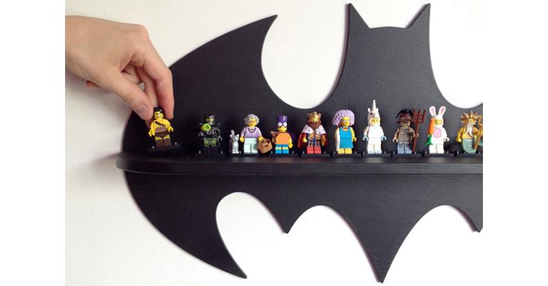 Etsy Find Of The Day Batman Wooden Shelf