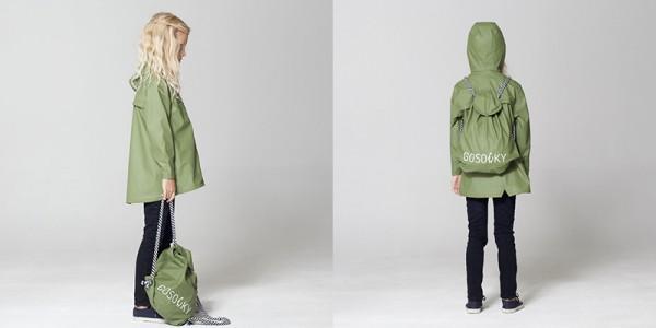 Go Soaky girls coat