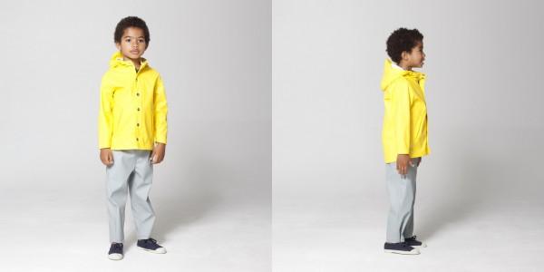 Go Soaky yellow coat