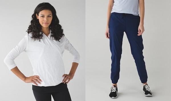 Lulu Lemon pants top